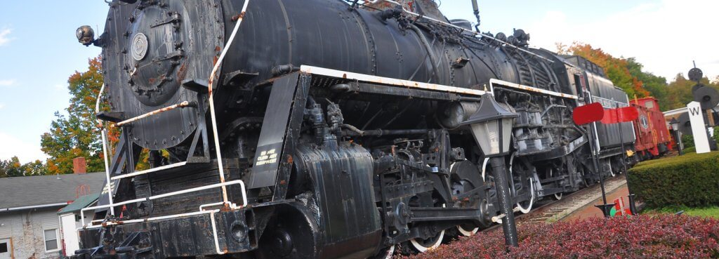 Engine 604 at Greenville Railroad Park Museum