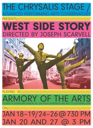 """West Side Story"" set to captivate audiences in Sharon Pa!"